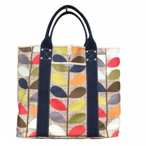 Orla Kiely Tote Bag Multi Stems Large Canvas